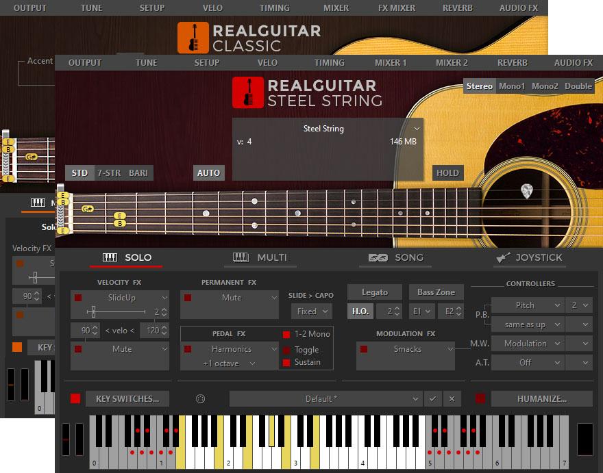 MusicLab RealGuitar for Mac 5.0.1.7367 激活版 - 木吉他音源采样软件